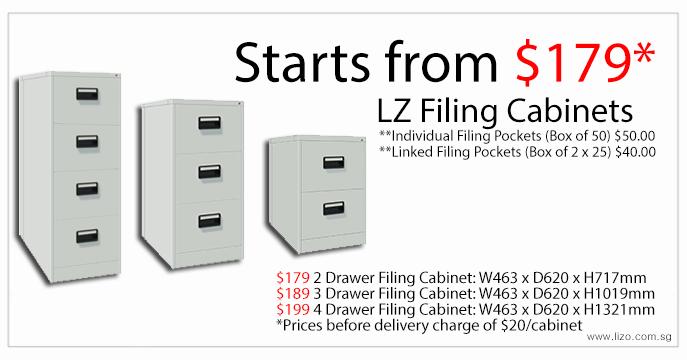 Metal Cabinet | Compartment Locker | Filing Cabinet | LIZO